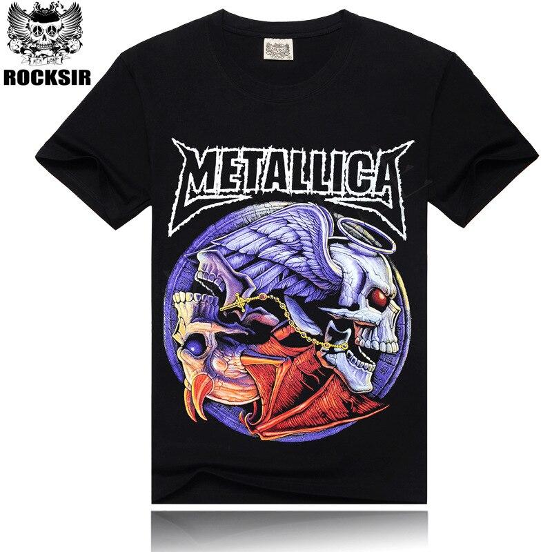 Τσάντες μαύρο T-Shirt 100% βαμβάκι Metallica - Ανδρικός ρουχισμός - Φωτογραφία 1