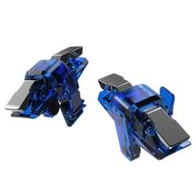 2Pcs X7 Game Controller Gamepad Trigger Aim Button L1 R1 Joystick For Pu-bg Handle Pad Accessories