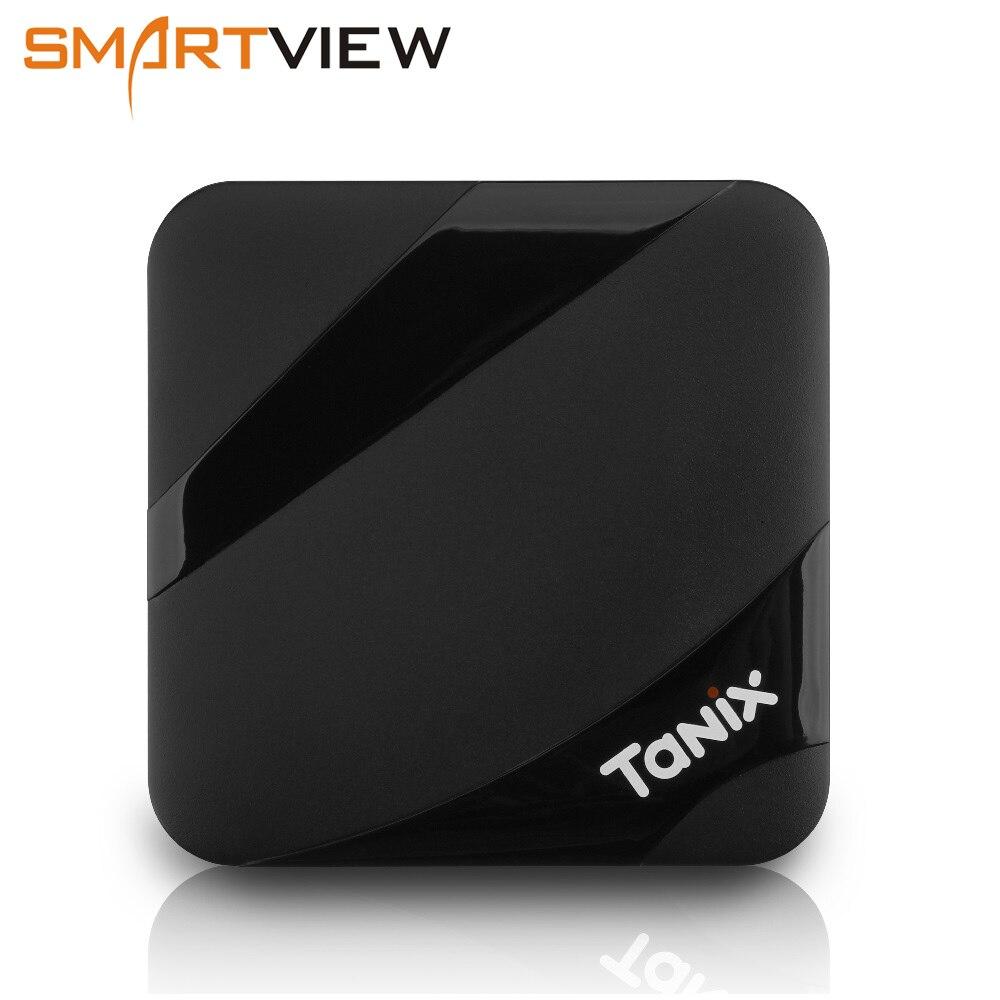 Tanix TX3 MAX 2 gb 16 gb Android 7.1 TV BOX Amlogic S905W Quad Core BT4.1 H.265 4 karat 30tps 2,4 ghz WiFi Plays pk Mi boxen