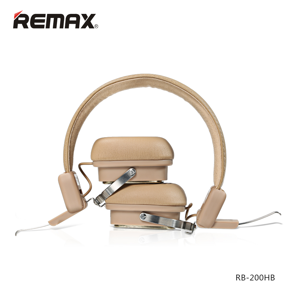 Remax 200HB Bluetooth Earphones Adjustable HIFI Noise Cancelling Headphone with MIC For Mobile Phone Iphone se xiaomi headphones remax t11c bluetooth earphones 2in1 mini earbuds with dual usb car charger wireless car headset cvc noise cancelling for phone