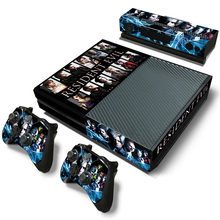 free drop shipping 2018 Newest design for xbox one console skin stickers in stock#TN-Xboxone-2562