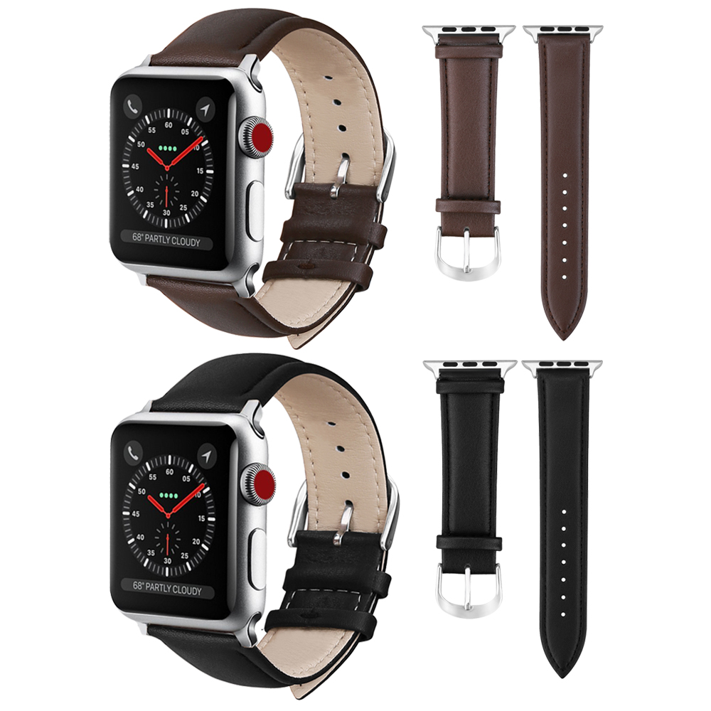XIYUZHIYI New vintage leather watchbands watch accessories for iwatch bracelet Apple watch band 42mm 38mm series 1&2 watch strap