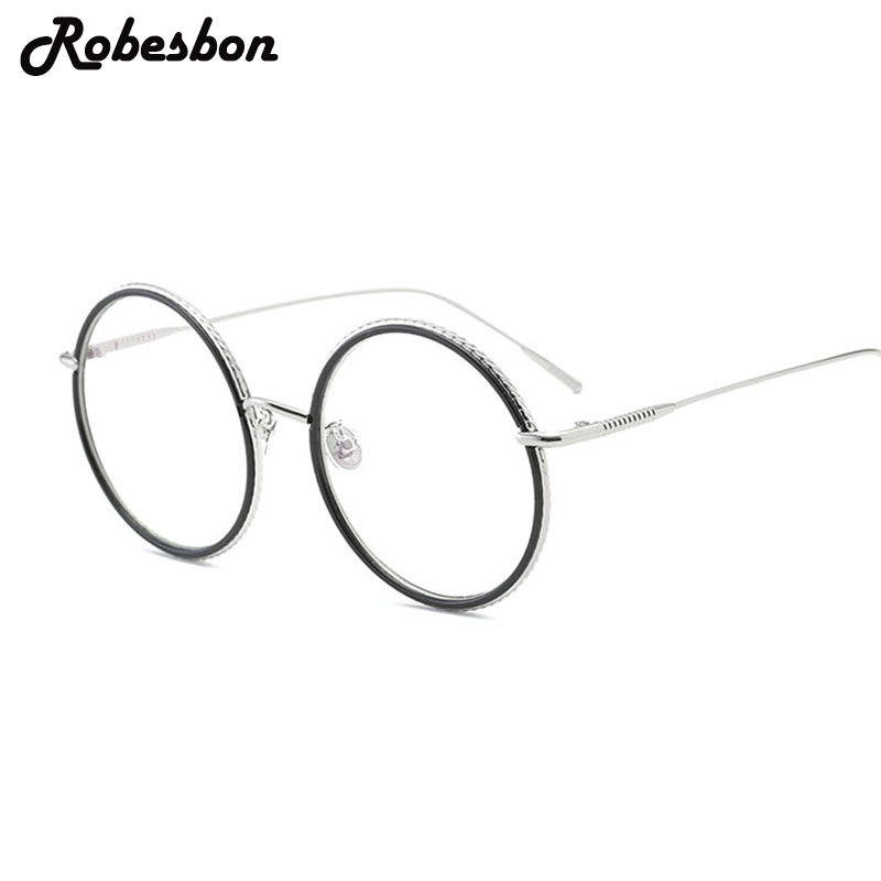 men new fashion round frame gold glasses frames for women classic square optical eyeglasses frames women