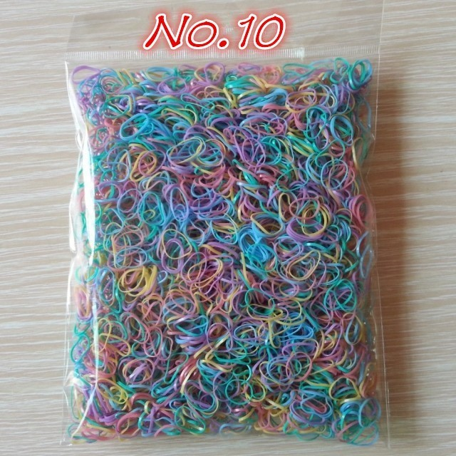 About 1000pcs/bag (small package) 2015 New Child Baby TPU Hair Holders Rubber Bands Elastics Girl's Tie Gum Hair Accessories 5