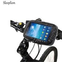 Motorcycle Bike Fixation Waterproof Case Bag Handlebar Mount Holder For Samsung S8 S8 Plus S7 S7