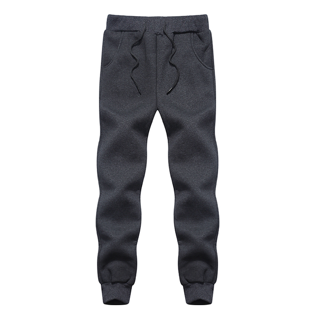 2d1dfbaaebec BHDD Fleece Pants Mens Warm Pants Thermal Trousers Mens Fleece Sweatpants  Cotton Causal Pants Heated Trousers Winter Pants Men