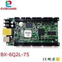 BX-6Q2L Led Display Controller Asynchrone Deur Latei Full color controlekaart met 8 nos Hub75 poort en 16 nos RGB data