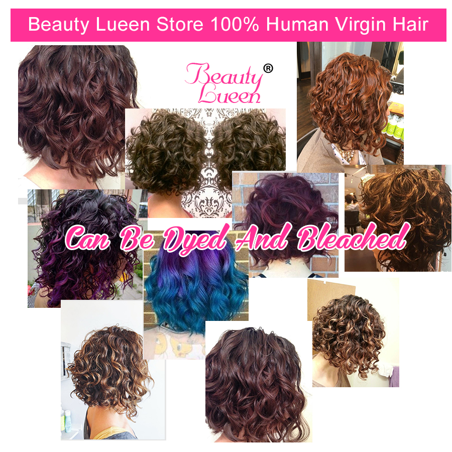 Summer short bob hair style curly weave human hair extensions summer short bob hair style curly weave human hair extensions brazilian hair natural color can be dyed non remy beauty lueen in hair weaves from hair pmusecretfo Image collections