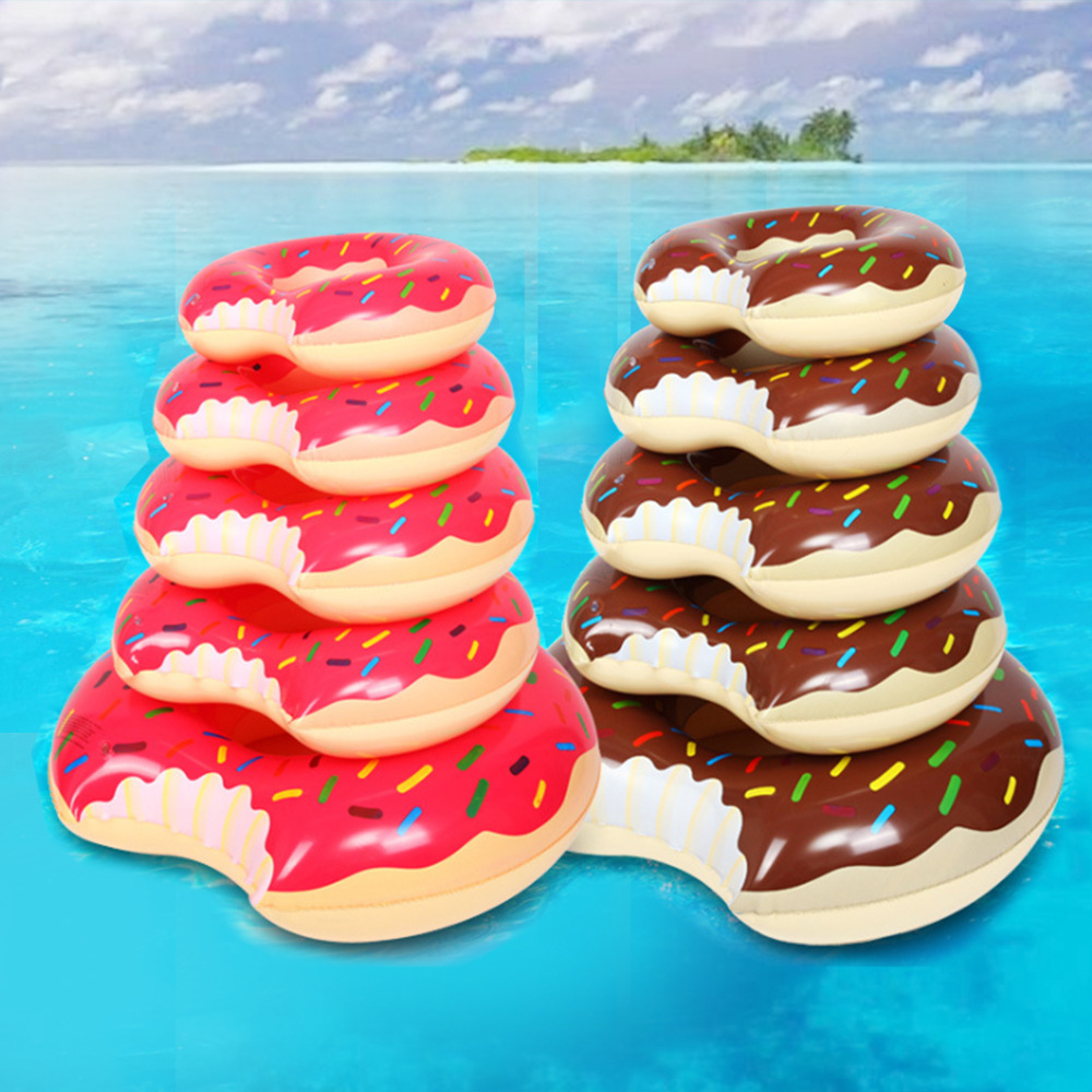Pool Party Children Adult Inflatable Doughnut Swimming Circle for Swimming Party Float Toy Water Mattress Lifebuoy Beach Party