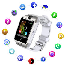 Q18 Smart Watch Phone Bluetooth Camera SIM TF Card Smartwatch for Android Samsung LG Google Pixel and iPhone 7 7Plus 6 6s 6s(China)