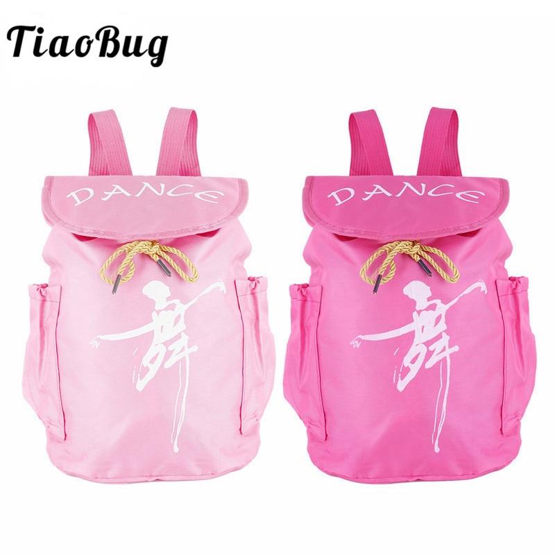 tiaobug-kids-chinese-character-dance-printed-font-b-ballet-b-font-dance-bag-drawstring-student-school-backpack-ballerina-girls-sports-backpack