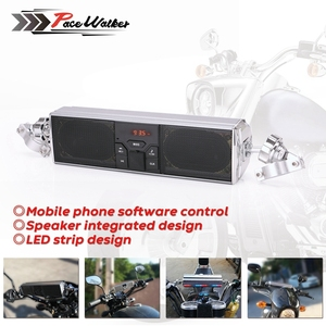 Image 1 - Universal Motorcycle Audio Waterproof Motorcycle bluetooth MP3 USB FM Speaker Sound System  Radio Stereo Speaker