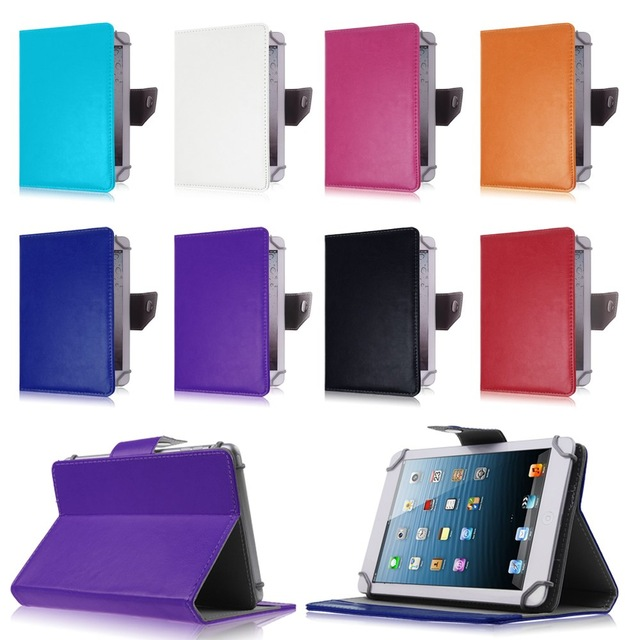 """Universal 7""""inch Tablet case For Huawei MediaPad 7 Youth 2 S7-721U for ASUS MeMO Pad HD 7 ME173X Flip Stand leather Cover"""