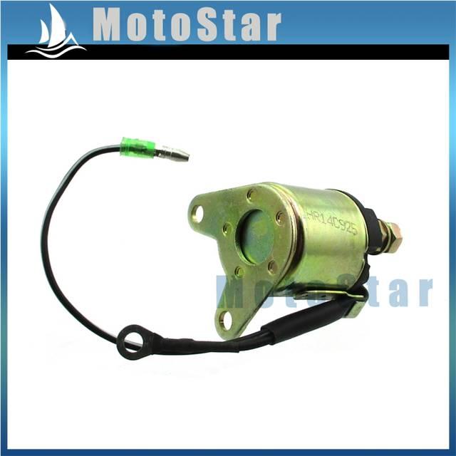 US $9 64 30% OFF|Solenoid Starter Relay For TrailMaster TBM50A GK50 GK163  MINI GK 1 GK 2 Go Kart 4 Wheeler 5 5HP 6 5HP 163cc 196cc-in Motorbike