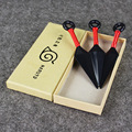 3Pcs/Lot  13cm Cartoon Naruto Plastic Kunai Japanese Ninja Cosplay Weapon Props Accessory Toy KidsToys Free Shiping