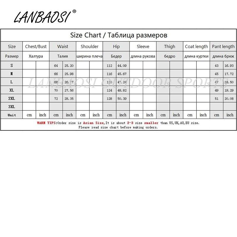 LANBAOSI բացօթյա սպորտաձևեր տղամարդկանց - Սպորտային հագուստ և աքսեսուարներ - Լուսանկար 6