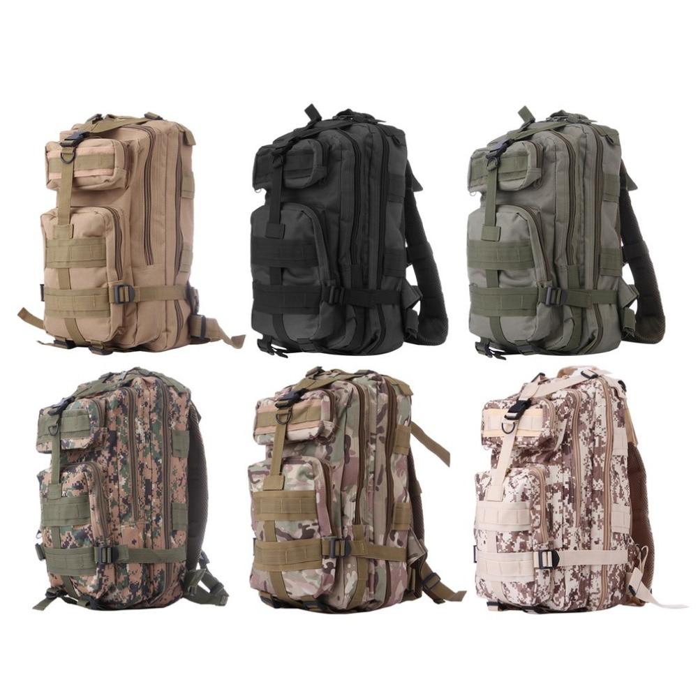 Outdoor Travel Hiking Backpack Military Tactical Mountaineering Bag Waterproof Nylon Trekking Rucksack Sport Camping Backpack