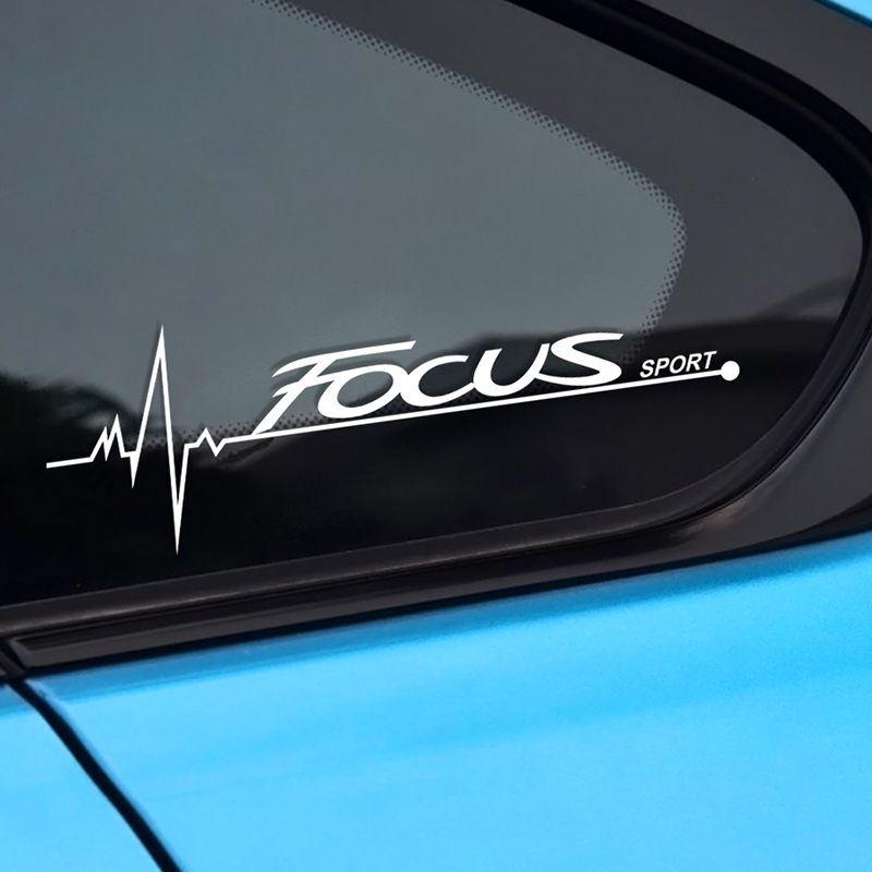 Image 4 - 2PCS Car Stickers Side Window Decal For Ford Focus 2 3 1 MK2 MK3 MK1 Captivating Window Decoration Sport Decals Auto Accessories-in Car Stickers from Automobiles & Motorcycles