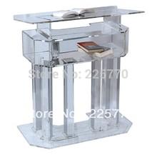 church acrylic podium/plexiglass dais / Acrylic high grade Lectern / church pulpit