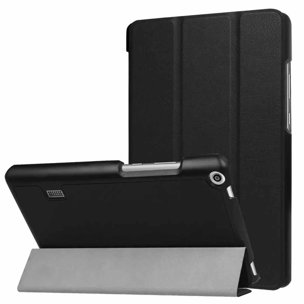 حافظة لهاتف هواوي ميديا باد T3 7.0 BG2-W09 حافظة جلدية فائقة النحافة لهاتف هواوي ميديا باد T3 7.0 بوصة