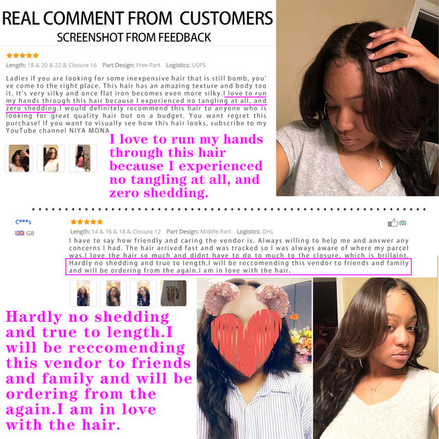 Body Wave Bundles With Closure Brazilian Hair Weave Double Weft Chic Crown