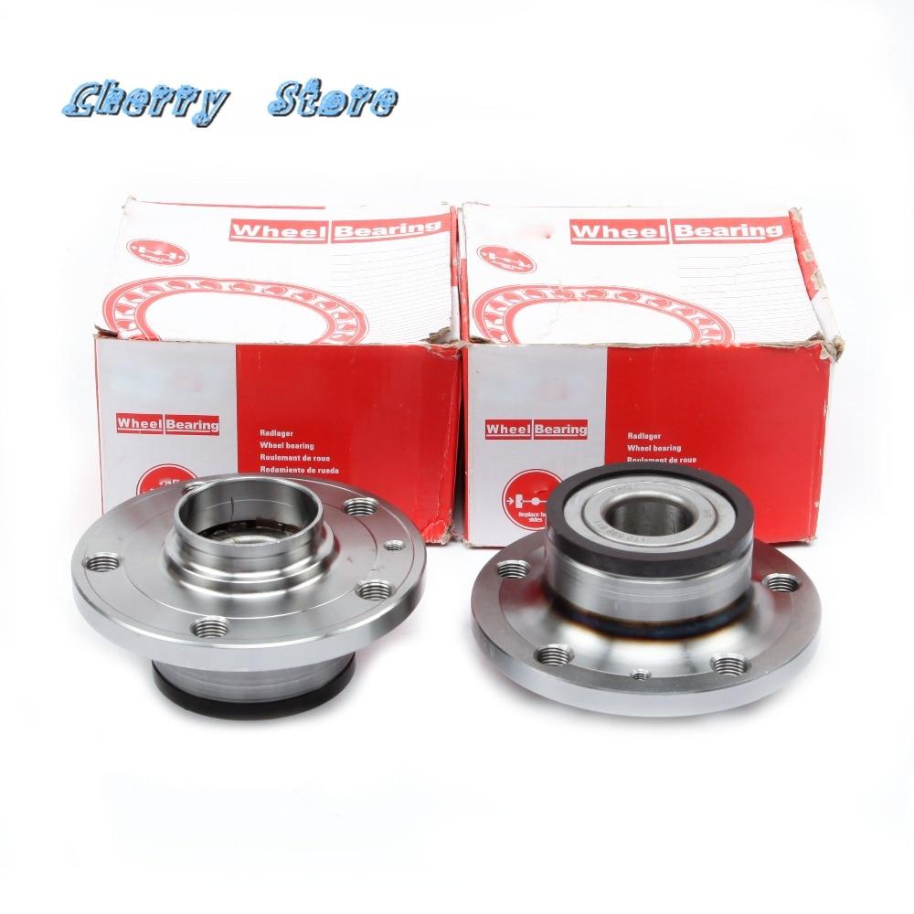 NEW 1T0 598 611 2Pcs Rear Wheel Hub Bearing For Audi A3 VW Passat Eos Jetta Golf Tiguan Skoda Superb Seat Leon 713610620