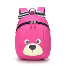 Anti Lost Bag For Girls Boy Kids Children Strap Baby Aged 1-3 Years Old Safety Canvas Harness Toddler Cartoon Backpack