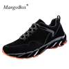2018 Mens Youth Running Shoes Black Gray Men Trainers For Running Lace Up Track Shoes Spring