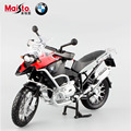 Maisto 1:12 Children's R1200GS metal diecast mini moto race cars collectible miniature boys kids  toys models of motorcycles