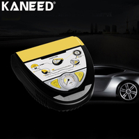 KANEED Electric Air Pump Air Compressor 120W 10A Portable Tire Inflation Manometry Tire repair Night Lighting 3m Power Cord