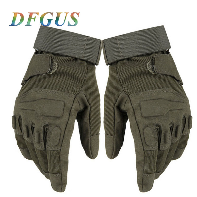 Men's Full Finger Tactical Gloves Military Army Police Paintball Mittens Combat Full Winter Gloves Women Tactical Gloves