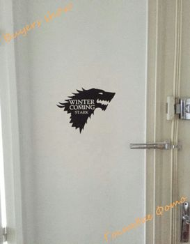 Stark Vinyl Car decal, Game of Thrones sticker