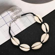 Creative Shell Bracelet Chain Handmade Bohemian Natural for Women Simple Style Rope