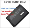 52wh 14.8V  Battery for HP HSTNN-DB3Z BT04XL BA06 for EliteBook Folio 9470 9470m HSTNN-DB3Z IB3Z I10C BA04XL HQ-TRE H4Q48AA