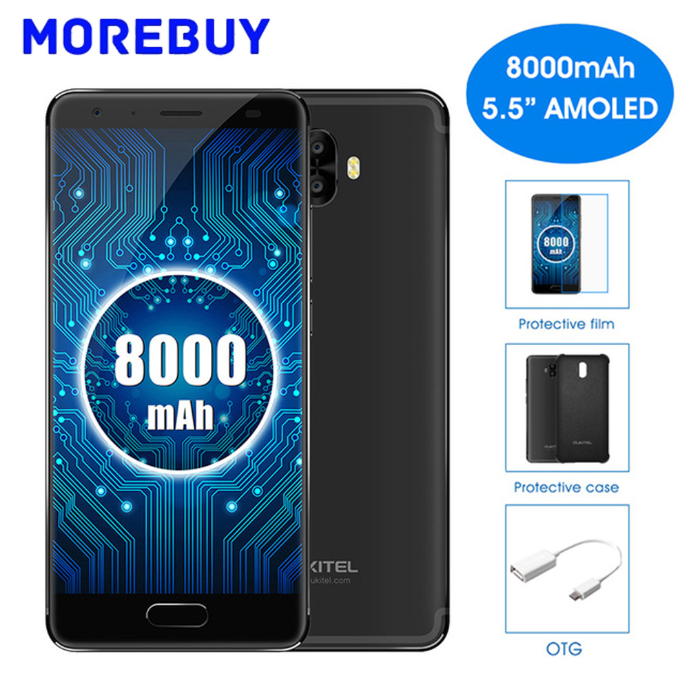 Oukitel K8000 5 5 HD Mobile Phone MTK6750T Octa Core Android 7 0 4GB RAM 64GB