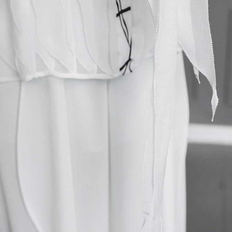 De Taille Manches Base Femmes Grande Blusas Blanc Élégant B550 Soie Chemise Blanche Tops Casual Voa Befree Longues Harajuku Blouse Bureau Automne qXvPYgw