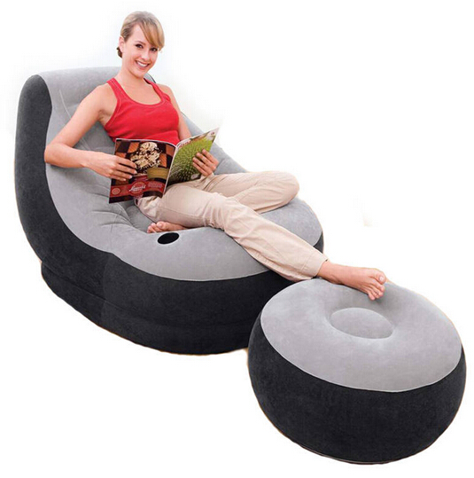 Intex sofa bed set living room furniture single deck chair,size 99 cm * 130 cm * 130 cm, include repair patch
