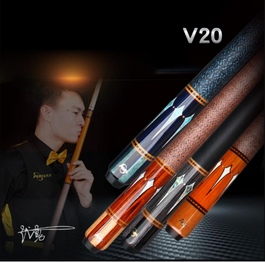 PERI V20 Luxury High-end Pool Cue Excellent 12.75mm Pool Stick Billiard Cue Kit For Champion Athlete Professional Cue