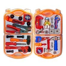 Random Color Repair Tool Toy Children`s Simulation Boy Toolbox Set Play House Boys Kids Pretend Toys Birthday Gifts