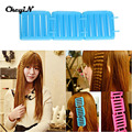 3pcs DIY Magic Hair Styling Roller Plastic plate hair clips Curler Tools For Curls Hair Accessories Random Color X28P