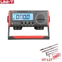 UNI T UT802 скамейка Цифровой мультиметр высокой точности ручная мультиметр Сопротивление Емкость Частота Температура Тесты