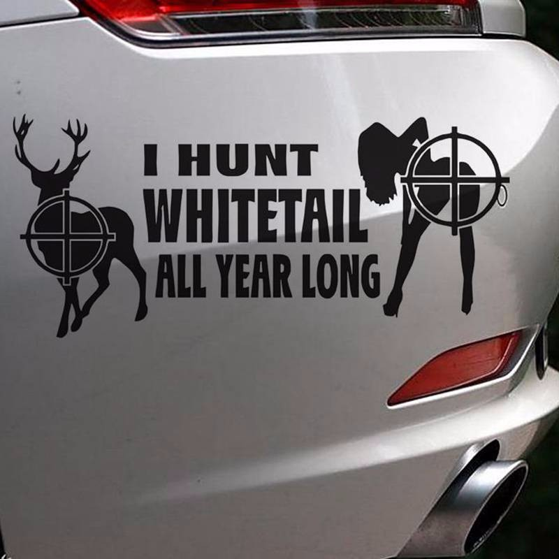 Australian Hunter Babe Window Decal Sticker for Car//Truck//Motorcycle//Laptop 627