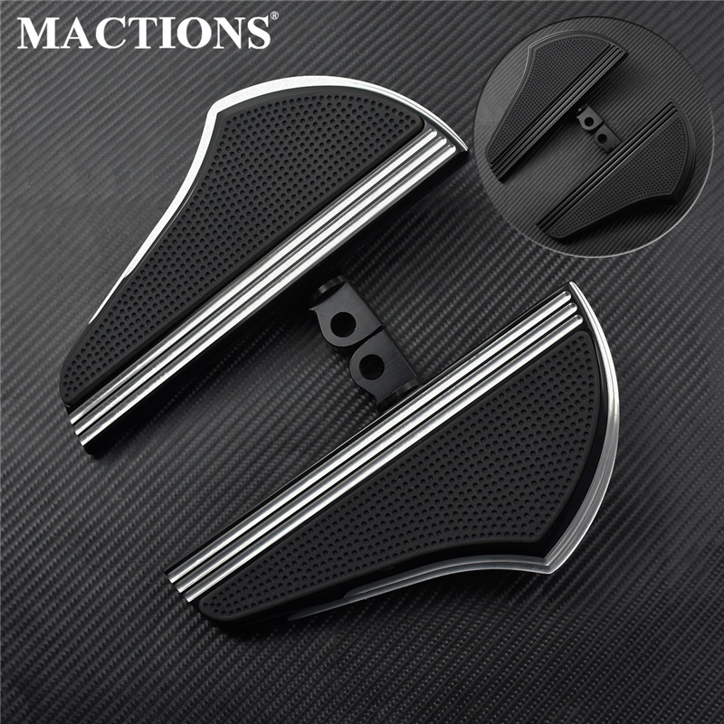 Motorcycle Passenger Floorboard Male Mount-Style Passenger Foot Peg  Pedal For Harley Sprotster XL 883 1200 Touring Dyna