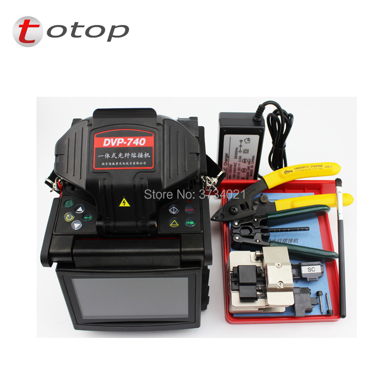 Multi-language  DVP740 Optical fiber Arc fusion splicer FTTx / FTTH Fiber Optic Splicing MachineMulti-language  DVP740 Optical fiber Arc fusion splicer FTTx / FTTH Fiber Optic Splicing Machine