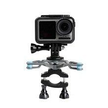 Xe Đạp Xe Đạp Chân Đế Giảm Chấn Chống Sốc Gắn Cố Định Kẹp Chân Máy cho OSMO Hành Động cho Gopro Hero Camera hành động Phụ Kiện
