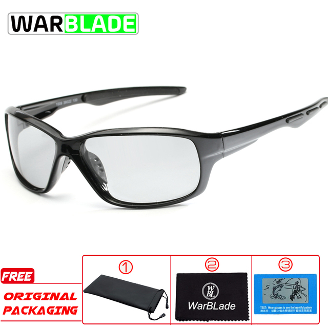 a43abaa16b Photochromic Polarized Cycling Glasses Eyewear Bicycle Riding Protection  Goggles Driving Hiking Sports Sunglasses Cycling