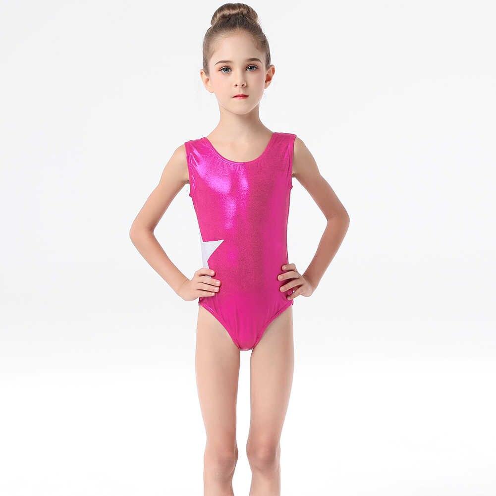 Bailarina Da Menina Da Criança Ballet Leotards Ginástica Vestido Vestido Dancer Ballet Leotards Ginásio Atlético Acrobacia Para Crianças Desgaste da Dança