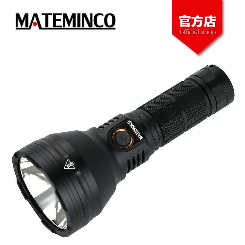 Mateminco MT35 Mini Luminus SST 40 2400 Lumens 875 Meters Rechargeable Long Range Throw LED Flashlight