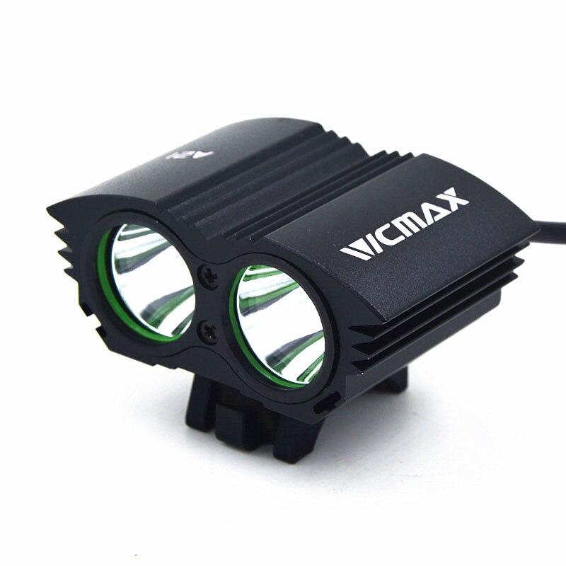 Vicmax светодиодный фонарик xm-l T6 светодиодный свет велосипеда лампы спереди головной свет лампы + 18650 Батарея пакет + Зарядное устройство + повя...
