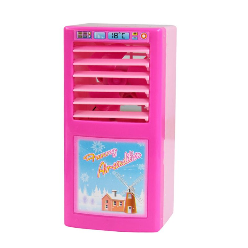 2019 New Children Kid Boy Girl Mini Kitchen Electrical Appliance Air Conditioner Toy Set
